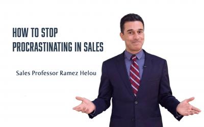 How to Stop Procrastinating in Sales